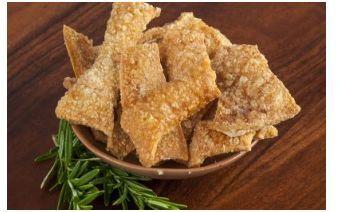 The Real Food Pantry Australia Clean Keto Crackle 1kg Salted FREE RANGE