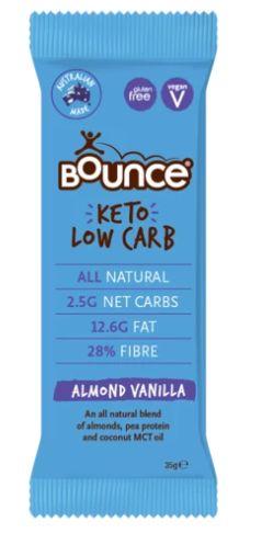 Bounce Keto Bar - Almond Vanilla 35 gm