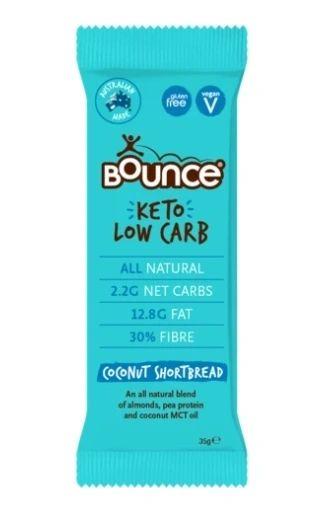 Bounce Keto Bar - Coconut Shortbread 35 gm