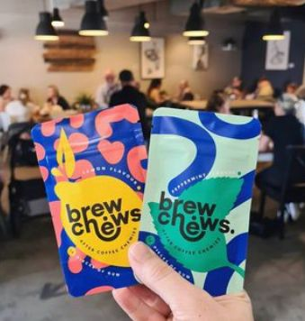 Brew Chews After Coffee Chewies 16 pieces of plant based chewing gum