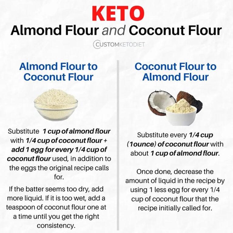 ALMOND MEAL FLOUR NATURAL & COCONUT FLOUR.
