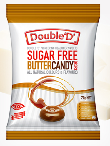 Double D - Butter Candy 70gm