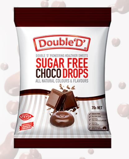 Double D - Choc Drops 70gm