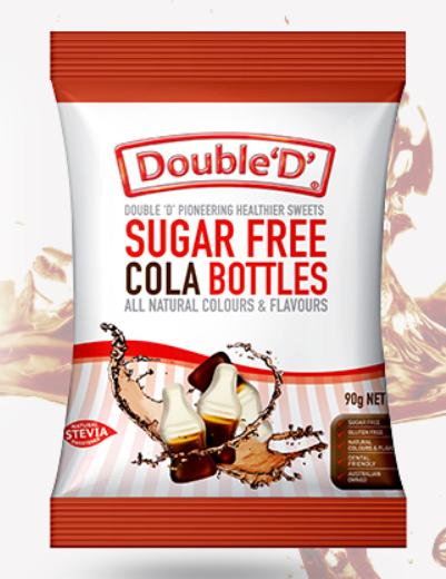 Double D - Cola Bottles 90gm