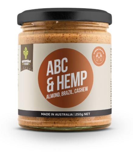 Essentially Hemp Grounded ABC & Hemp Nut Butter