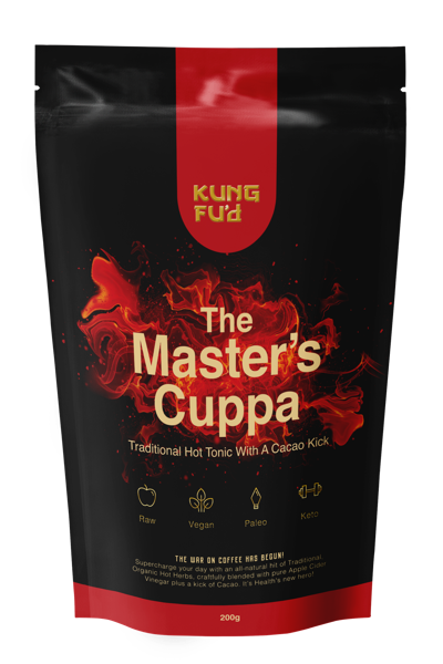Kung Fu'd The Masters Cuppa